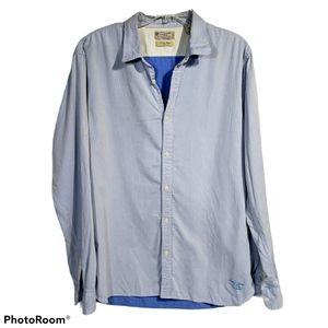 Scotch & Soda XXL Light Blue Button-Down Shirt